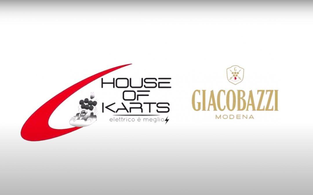 Giacobazzi vini, appoggia il suo partner house of karts