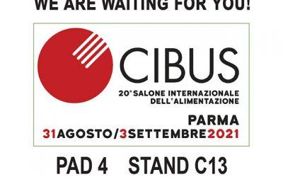 Giacobazzi al Cibus di Parma dal 31 agosto al 3 settembre 2021